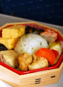 Bento lunch box - simple, but seriously delicious