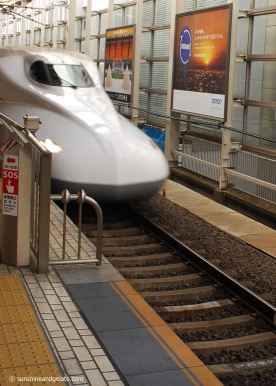 Day 4, and it's time to board our first shinkansen to Kyoto.