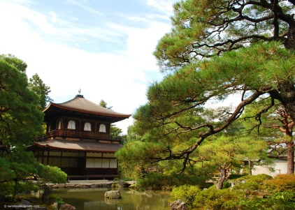 Then it was back to old Kyoto to visit Ginkaku-ji (the Silver Pavillion), a Zen Buddhist temple.