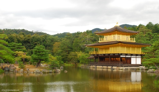After lunch, we made our way to Kinkaku-ji (Golden Pavillion), a Zen Buddhist temple.