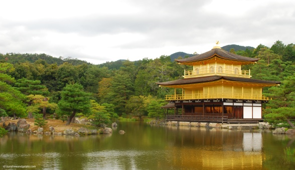After lunch, we made our way to Kinkaku-ji (Golden Pavillion), a Zen Buddhist temple.