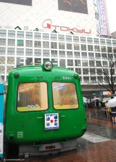 Our next stop was Shibuya station, one of the busiest stations in Tokyo.
