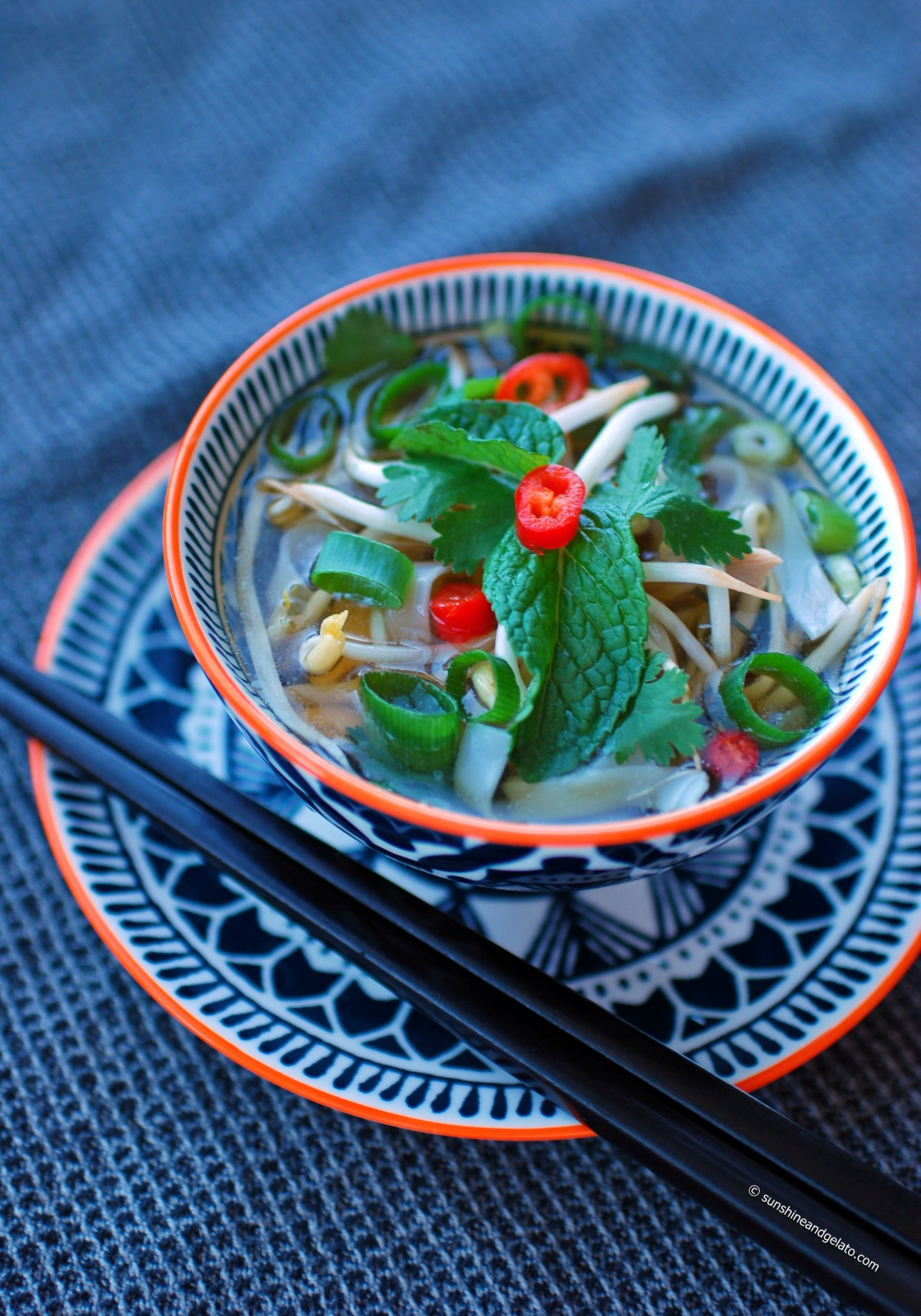 Speedy Chicken Pho (Pho Ga)